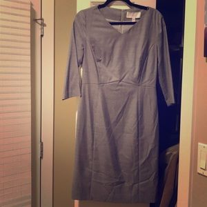 Hugo Boss Gray Work Dress Size 6
